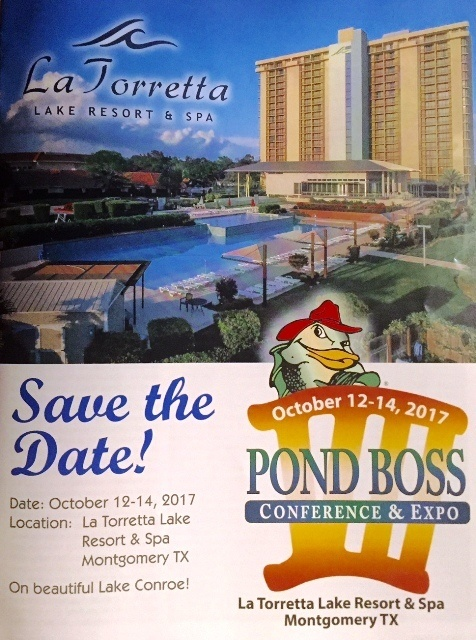 pond boss conference, learn about lakes, lakes and ponds raleigh, pond products, pond restoration charlotte, treat your lake